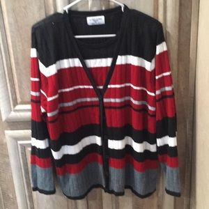 "Nice ""Alfred Dunner"" Women's Plus Size 1X Sweater"